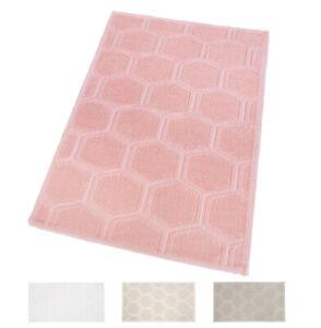 Bathroom Rug Cotton Plot 3D Elegant Down Bed Shower Absorbent Colorful
