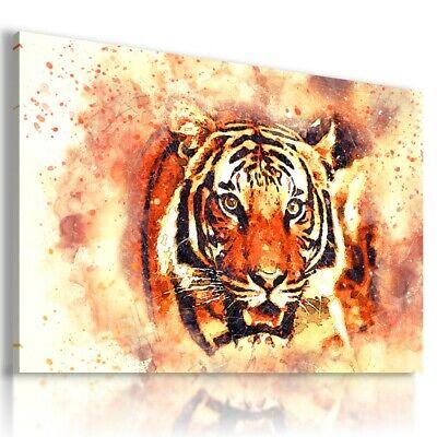 DRAWING PAINTING RAINBOW HEART Modern PRINT Canvas Wall Art Picture AB567 MATAGA