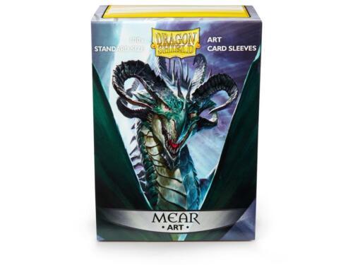 Dragon Shield Art Mear 100 protective Sleeves Hüllen Standard Kartenhhüllen