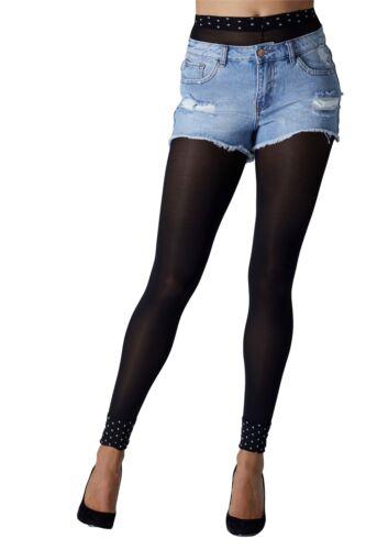 GIPSY Polka Dot Manchette collants sans pieds