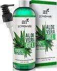 Art Naturals Aloe Vera Gel Face Hair Body Organic Natural 12 Oz Sun Burn