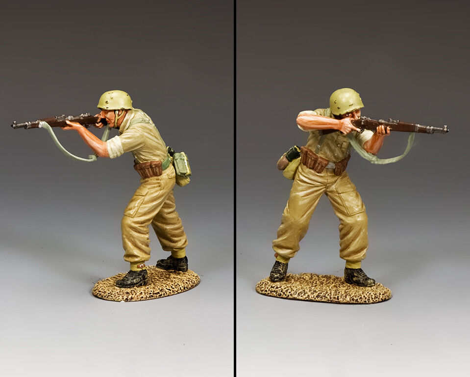 KING AND COUNTRY AFRIKA KORPS Standing Firing  AK123