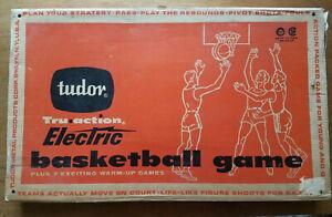 VINTAGE-TUDOR-1960-TRU-ACTION-ELECTRIC-BASKETBALL-GAME-NEAR-PRISTINE