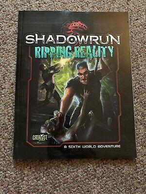 Intellective Shadowrun: Denver Avventura 3-ripping Realtà-mostra Il Titolo Originale Superiore (In) Qualità