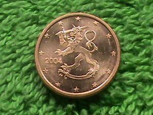 Finlande 1 Cents 2004 UNC