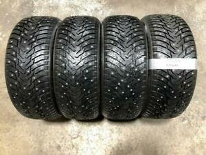 225/45R17 NOKIAN STUDDED WINTER TIRES (NEW TAKE OFF) Calgary Alberta Preview