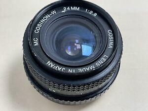 Cosina-Cosinon-24mm-f2-8-Prime-Lens-For-Pentax-PK-Mount