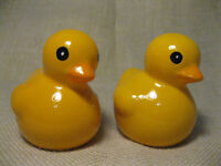 Cute Yellow Duckies Salt and Pepper Shaker Set