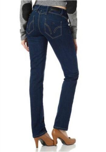 4 wards Jeans NUOVO taglia 34-46 donna stretch pantaloni TUBO tinted Blue Denim l32 rinsed