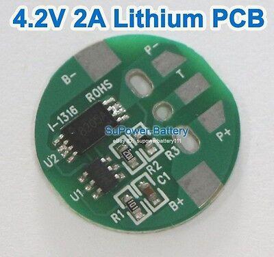 3.6V 3.7V 4.2V 2A Li-ion Lithium 18650 Battery Input Ouput Protection Board PCB