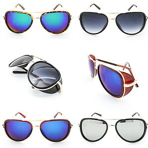 Iron-Man-Downey-Blinder-Steampunk-Cyber-Goggles-Tony-Stark-Pilot-Sunglasses