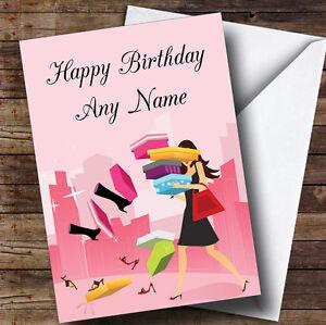 Comprar zapatos Personalizado Cumpleaños tarjeta de saludos