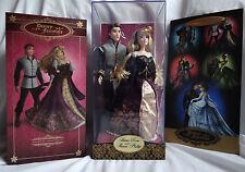 Disney Fairytale Designer Doll Aurora & Prince Phillip Sleeping Beauty LE Set
