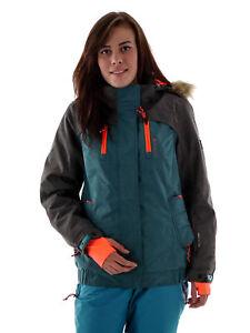 La 8 capta a agua Jenfi de chaqueta prueba esquí Brunotti de Hood 000mm Grey nieve RxaZRq