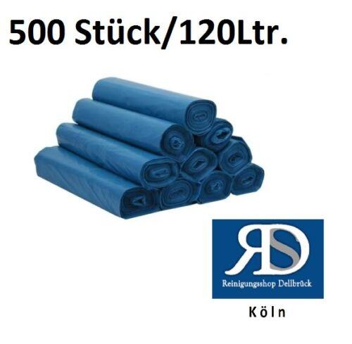 Müllsack Abfallsack 120 Liter 20 Rollen a 25 Stück 500 Stück Hammerpreis Typ 80
