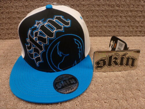 """Free Skin Lanyard or Belt Buckle Skin Men/'s Flex Fit Hat /""""Blythe/""""--Color Blue"""