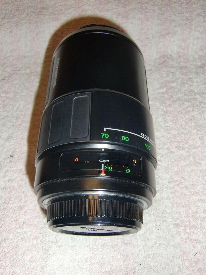 zoom, Olympus, Olympus Lens AF Zoom 70-210mm / F3.5 - 4.5