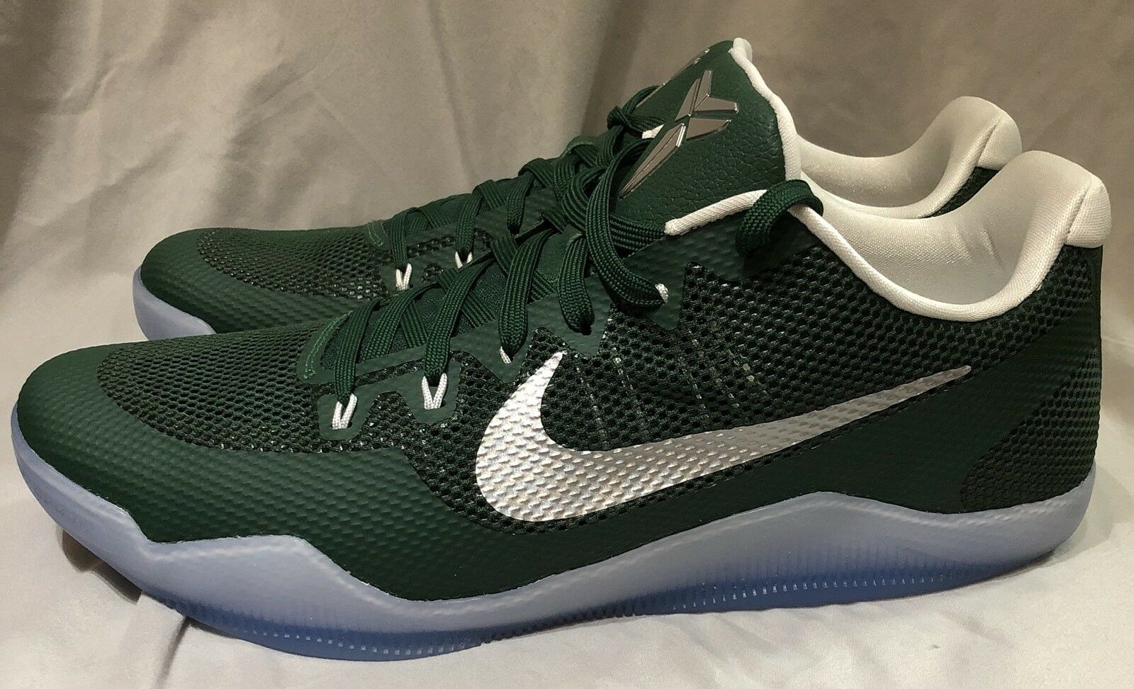Nike Kobe XI 11 TB Promo Gorge Green Basketball shoes Size 14.5 856485-331