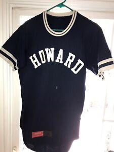 buy online bb0a2 1c1d9 Vtg Rawlings Pro Cut Howard University Bison Baseball Jersey ...