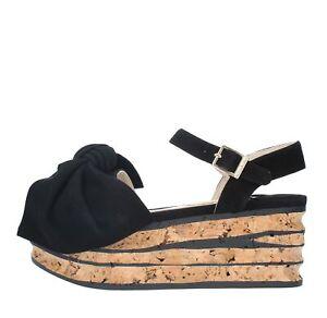 online retailer 8557e 0ffcd Dettagli su AE5_PALO Scarpe Sandali PALOMA BARCELO' donna Nero