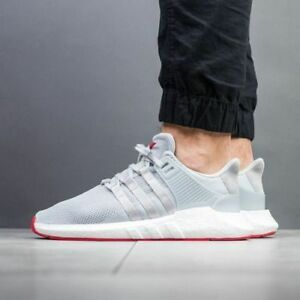 bdb92d475eae ADIDAS EQT SUPPORT 93 17 UK 9.5 grey   red   white CQ2393 - Brand ...