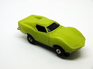 Image Is Loading Eldon Ho Slot Car Lime Mako Shark Corvette