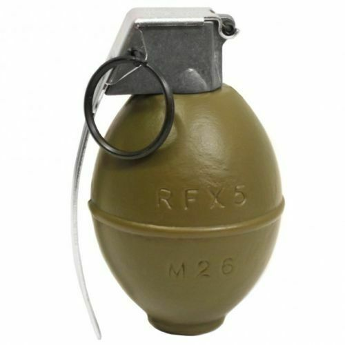 New G&G G-07-064 Armament Replica M26 Dummy Airsoft Grenade Grenade Grenade Prop BB Container 8b9a3f