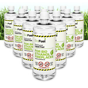 Bioethanol Fuel for Fires, FREE DELIVERY, Premium Quality,Clean Burn