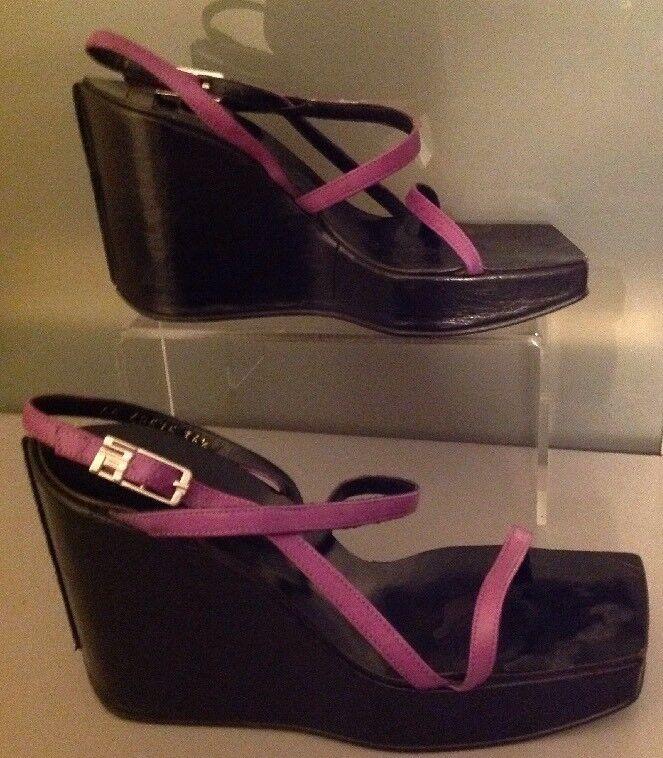 Sergio Rossi 36 1/2 Purple Sandals