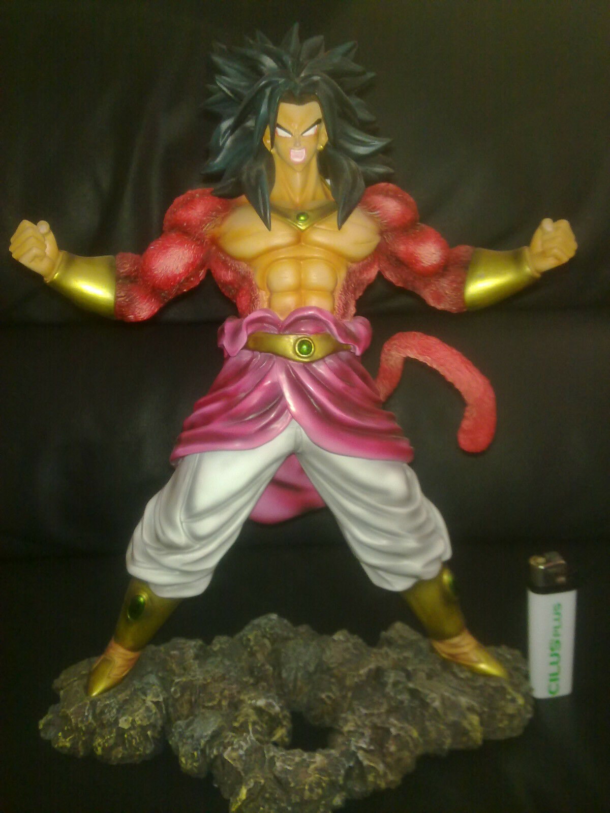 Dragon ball Resin figure broly ss4 ss4 ss4 super saiyan dragonball figura resina statue bb067f