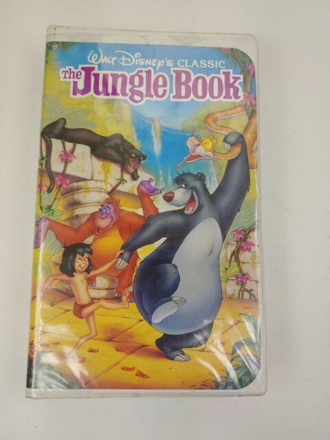Walt Disney's CLASSIC The Jungle Book Black Diamond VHS
