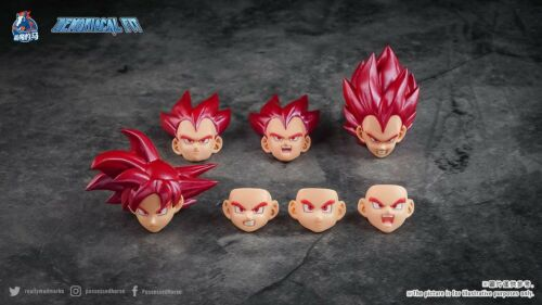 Demoniacal Fit Possessed Horse Hair Piece for Super Saiyan God Goku// Vegeta USA