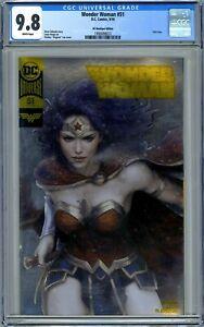 CGC 9.8 Wonder Woman #51 (Sept 2018, DC) DC Boutique Edition Foil Cover.