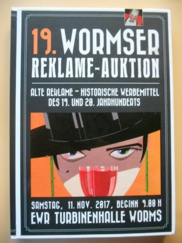 Wormser Reklame Auktion Auktionakatalog 11.11.2017 19