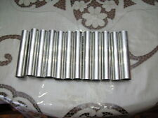 10 stampi per cannoli e cartocci siciliani- 10 pezzi in alluminio