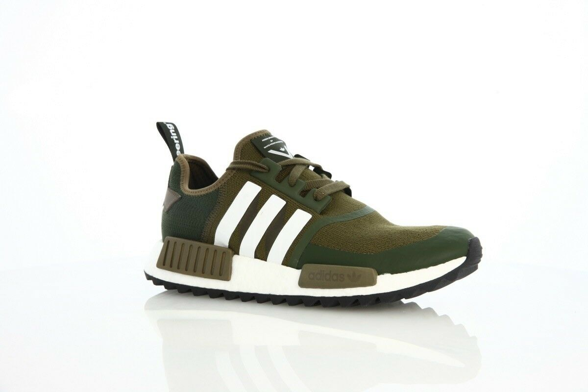 DS Adidas x white mountaineering mountaineering mountaineering NMD Trail Trace Olive Mens Size 8.5 8260a6