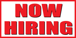2 X4 Now Hiring Banner Sign Apply Inside Hiring Signs Help Wanted Ebay