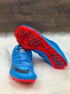 c8e113785dc Details about Nike Zoom Superfly Elite Racing Track Spikes Blue Red  835996-446 Men's Size 12
