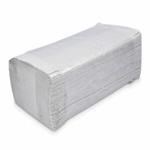 HSM Handtuchpapier Natur 5000 Stück Papierhandtücher Falthandtücher Handtücher