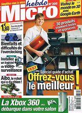 Micro Hebdo   N°398   1 Au 7 Decembre 2005 : Installez un logiciel de video surv