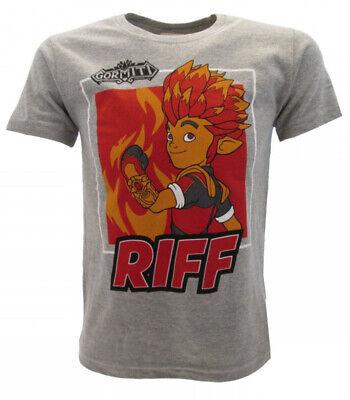 T-Shirt Gormiti ORIGINAL OFFICIAL RIFF Grey baby knitted shirt | eBay