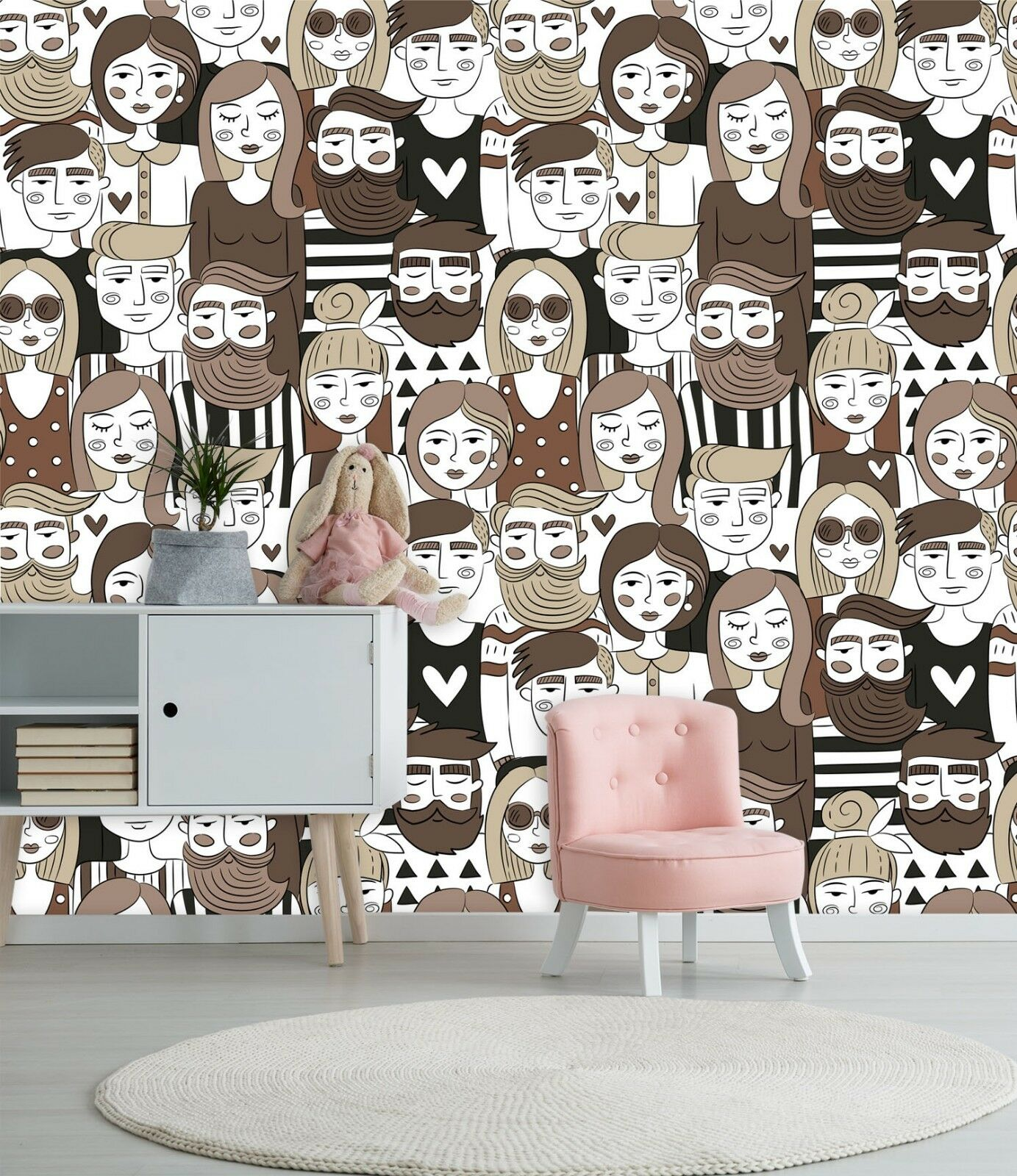 3D Adult Cartoon Comics 45 Wall Paper Wall Print Decal Deco Indoor Wall Mural CA