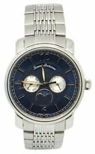 43cf198a860 item 3 Tommy Bahama TB3036 Moon Phase Blue Dial Stainless Steel Men's Watch  -Tommy Bahama TB3036 Moon Phase Blue Dial Stainless Steel Men's Watch