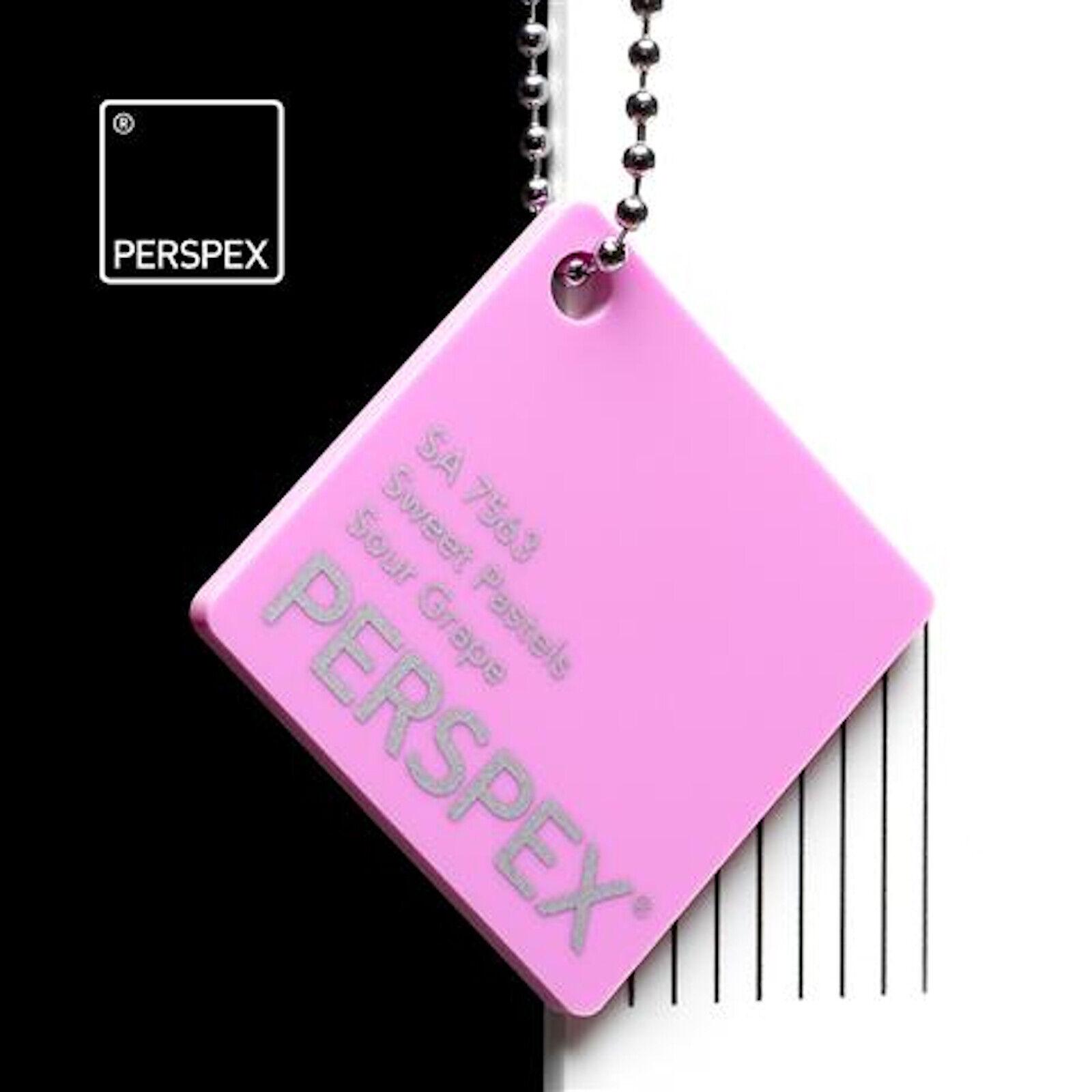 3mm Perspex® Sour Grape SA7563 Acrylic Plastic Sheet Panel Various sizes