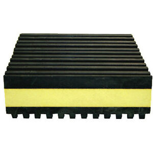 Air conditioning conditioner condenser anti vibration pads for Ac condenser pad installation