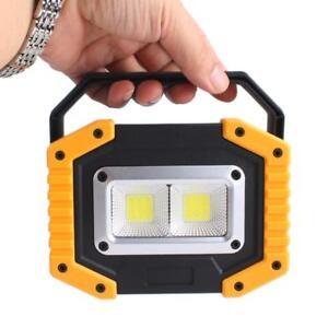 Vente-30-W-chip-on-board-d-039-urgence-lumieres-avec-USB-DEL-Travail-Lumiere-sans-fil-projecteur-BA