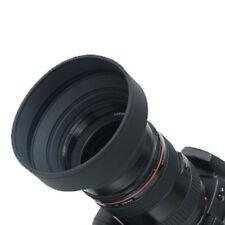 58mm 3-Stage Rubber Collapsible Lens Hood For canon 650d 400d 550d 500d 1100d