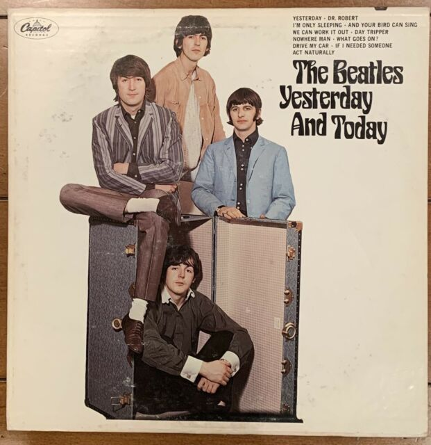 The Beatles Butcher Cover Yesterday And Today LP 1966 MONO pressing