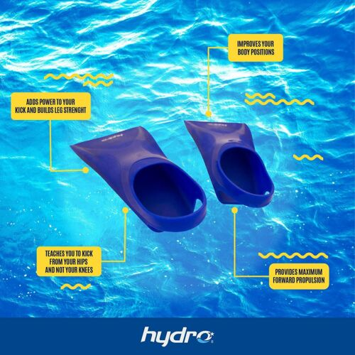Details about  /HYDRO Swimming Fins Short Blade Scuba Diving Beach Snorkeling for Kids /& Youth