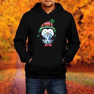 Dettagli su Menuomo Felpa Hoodie VW VOLKSWAGEN Penguin regalo inverno mostra il titolo originale